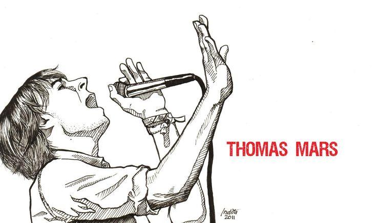 Phoenix - Thomas Mars by inezwandita on DeviantArt