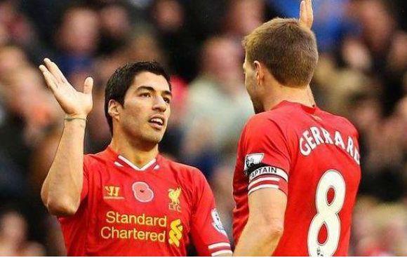 FIFA BALLON D'OR 2014 : L'Absence de Suarez fait enrager Steven Gerrard - http://www.actusports.fr/122862/fifa-ballon-dor-2014-labsence-suarez-fait-enrager-steven-gerrard/