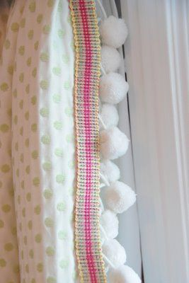 The Polkadot Chair:working with pre-made drapery: Around The Houses