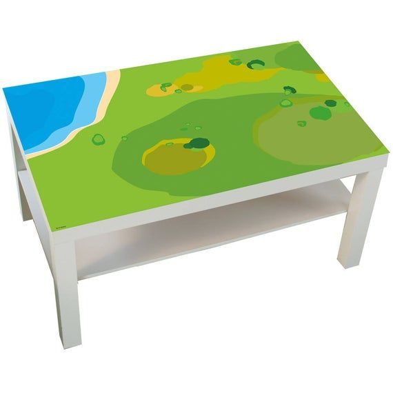 Kids Table Sticker Play Mat Decal Play Table Play Mat Baby Play Mat For Toddler Ikea Lack Farm Animals Toys Table Not Included In 2020 Ikea Kindertafel Speeltafel