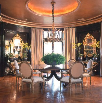 #cocoscollections Coco Chanel's dining room