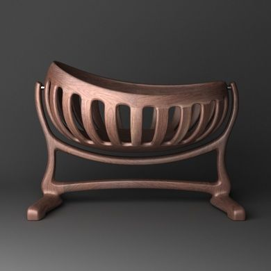 Very possibly the most beautiful cradle I have ever seen. Sculpted Cradle in Tiger Maple, made by Montana woodworker Scott Morrison. www.finewoodworker.com