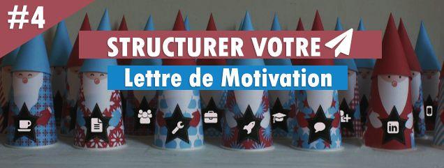 Structurer votre lettre de motivation - conseil calendrier de l'avent candidat - mooviblog - moovijob - recherche d'emploi