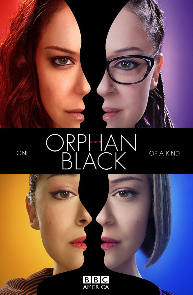 Orphan Black Season 4 - BBC America. One of the most amazing actresses - fits her roles like slipping on different pairs of socks! Premieres April 14!