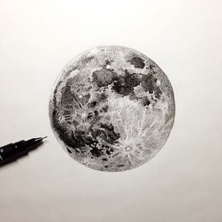 full moon tattoo - Google Search Pinterest: @BrittanyNiemer☼