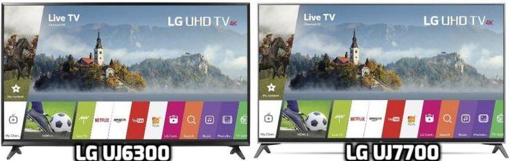 LG UJ7700 vs UJ6300 Review (49UJ7700 vs 49UJ6300, 55UJ7700 vs 55UJ6300, 65UJ7700 vs 65UJ6300)