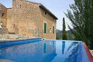 The mansion of the XVcentury in the heart of the Tramuntana venta, 15 min from Palma. Great combination of the medieval architecture and modern details. Tramuntana, Spain