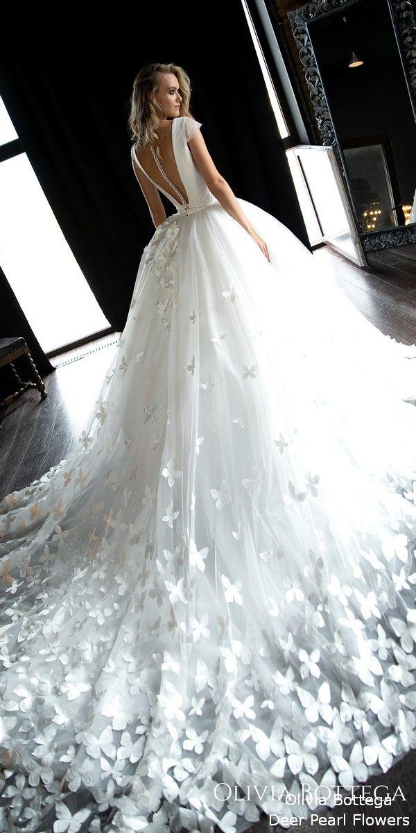 33aaf6f8a6 Olivia Bottega Wedding Dresses 2019 #wedding #dresses #weddingdresses  #weddingideas #deerpearlflowers