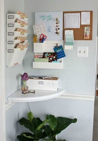 Choose From 20 Different Organization Ideas To Start Your New Year Off  Right, Like This. Kitchen Command CentersFamily Command CenterHome ...