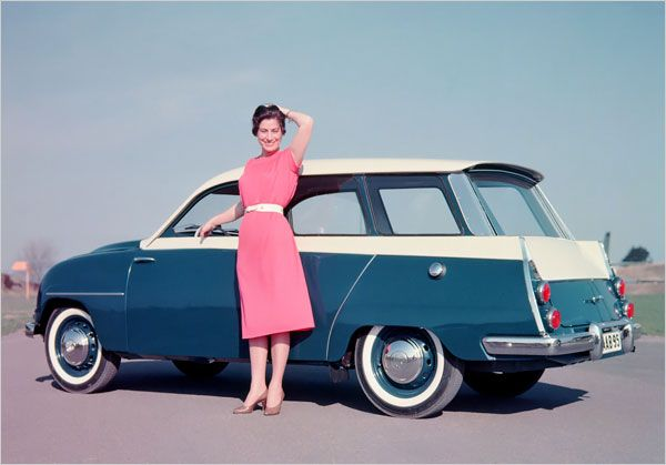 My dream car. 1960 Saab 95 wagon. Collectible Saabs - The New York Times