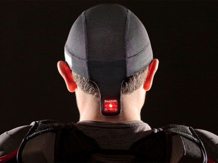 Wearable Device For Athletes Measures The Severity Of Head Injuries #technology