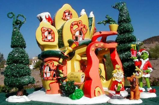 Whoville Christmas Village | Cindy Lou Who's House Snow Village