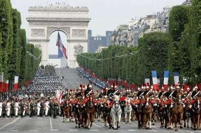 Paris on Bastille Day. I will go back and see this parade!