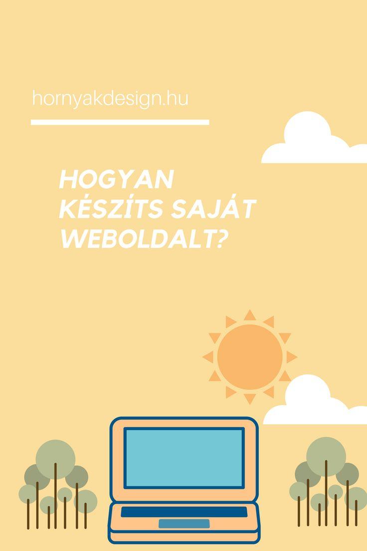 hogyan készíts saját weboldalt...