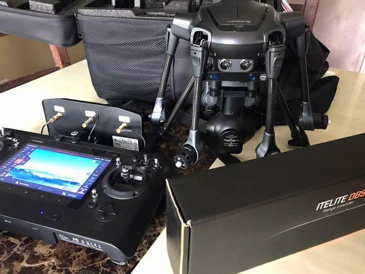 Used typhoon h pro intel real sense with itelite power range antenna.....condition tiptop Rm5700  #yuneec #drone #itelite #intelrealsense #drone #shopping #fashion # FactoryDirect