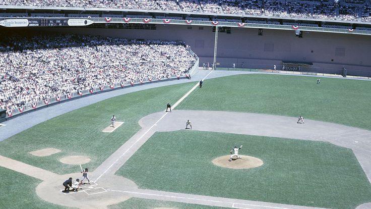 D C Stadium 1962 Mlb All Star Game Baseball Park Baseball Stadium Major League Baseball Stadiums
