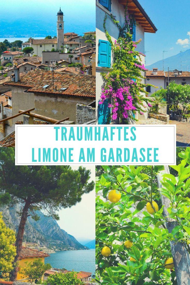 Limone ist der vielleicht schönste Ort Europas. Im malerischen Dorf zwischen Gardasee und hohen Bergen werden die Bewohner besonders alt. Erfahre mehr in meinem Reiseblog-Artikel! #Gardasee #Reisen #Reise #Limone #Italien #Lombardei #Urlaub #Reisetipps #Urlaubstipps