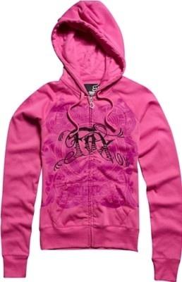 Pink Fox Racing hoodie