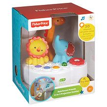 Fisher-Price Rainforest Friends 4-In-1 Projection Soother