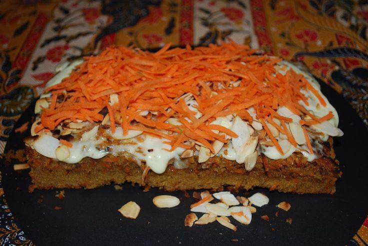 Jaglane ciasto marchewkowe