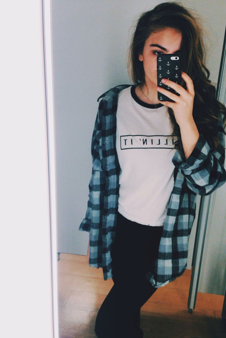Black t shirt outfit tumblr - Black T Shirt Outfit Tumblr 2
