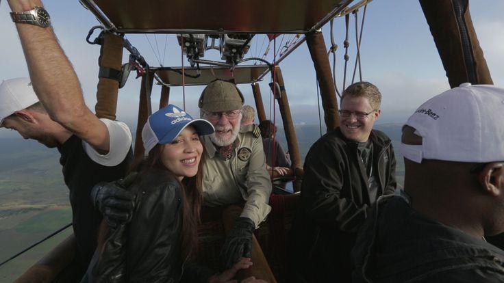 Mercedes-Benz #GLAadventure Pilanesberg weekend – balloon safari