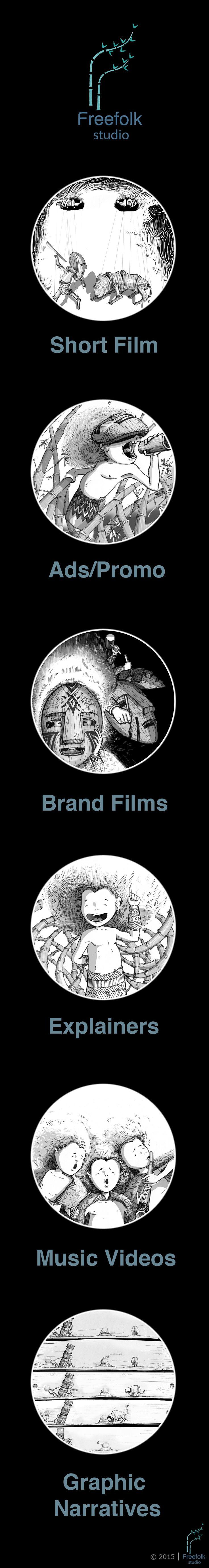 Freefolk Studio is visual communication design studio. #FreefolkStudio #Freefolk #AnimationServices #ConceptArt #InkArt #AnimationLove #LoveGhibliStudio             http://www.freefolkstudio.com/