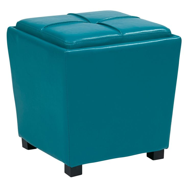 Have to have it OSP Designs Metro 2 pc Vinyl Storage Ottoman Set