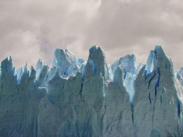 Frío: Perito Moreno, Calafate, Argentina