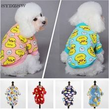 XS S M L XL Designer Dog Clothes Chihuahua Costume Printed Small Dog Cat Coat Hoodie Winter Warm Cheap Puppy Dog Pet Apparel(China)