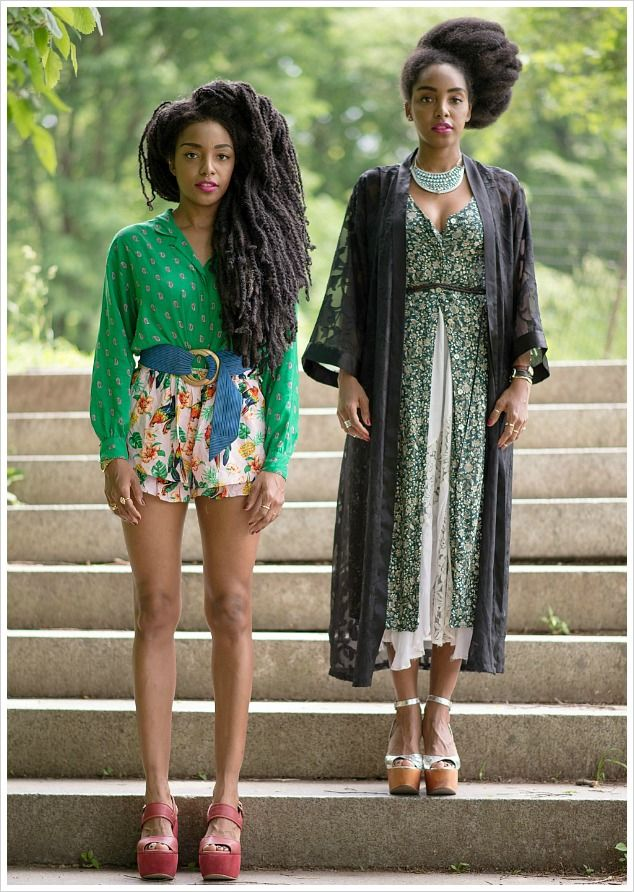 Vogue.com: Twin Dressing: Cipriana Quann Shares a Photo Diary of Two Sisters' Style Evolution