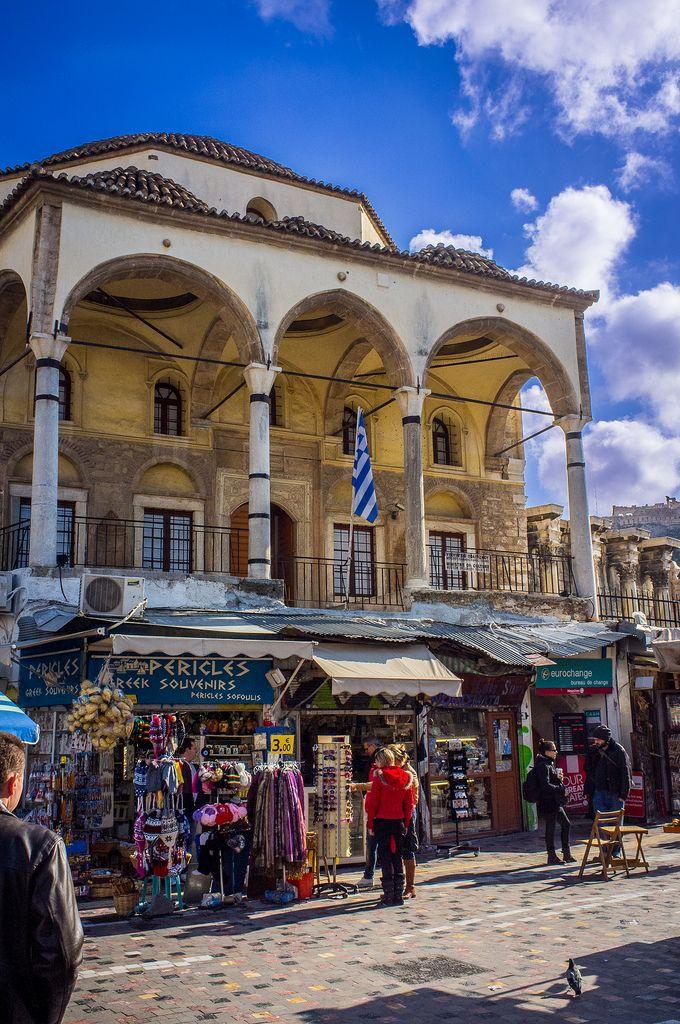 Monastiraki Area in Athens.