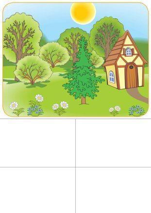 Aprendemos las estaciones del año con este loto. Mírame y aprenderás en Facebook
