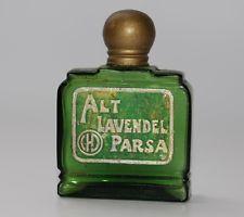 antikes Parfüm Parfum Flakon, Alt Lavendel Parsa CHD ca. 1900 / 1910   #A817