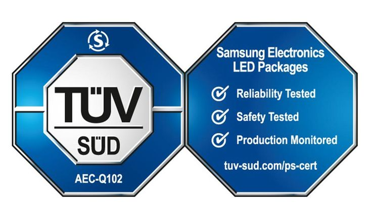 Samsung Electronics and TÜV SÜD Collaborates to Introduce Joint Testing Program for Samsung's Automotive LED Components