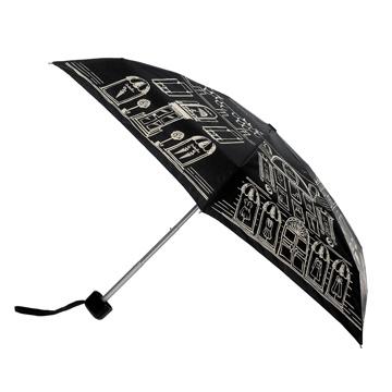 Lulu street Scene Tiny Umbrella | Umbrellas | Designer Accessories | Lulu Guinness