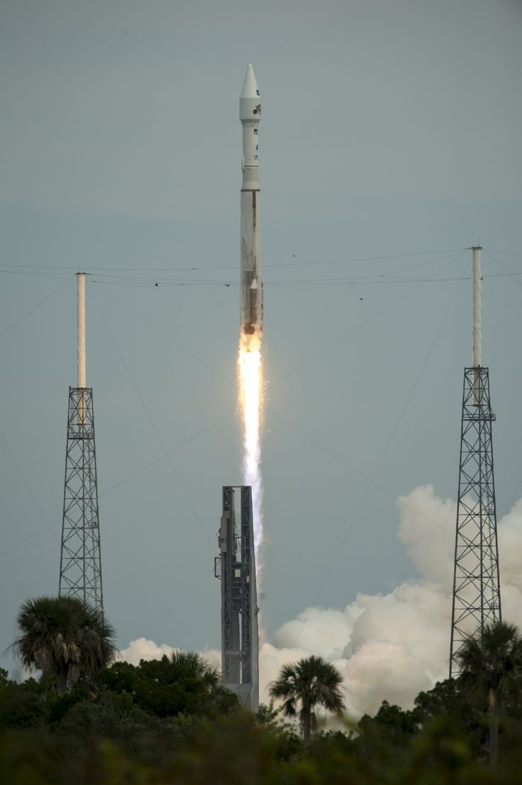 NASA's Mars Atmosphere and Volatile EvolutioN (MAVEN) spacecraft launches aboard a United Launch Alliance Atlas V from the Cape Canaveral Air Force Station Space Launch Complex 41