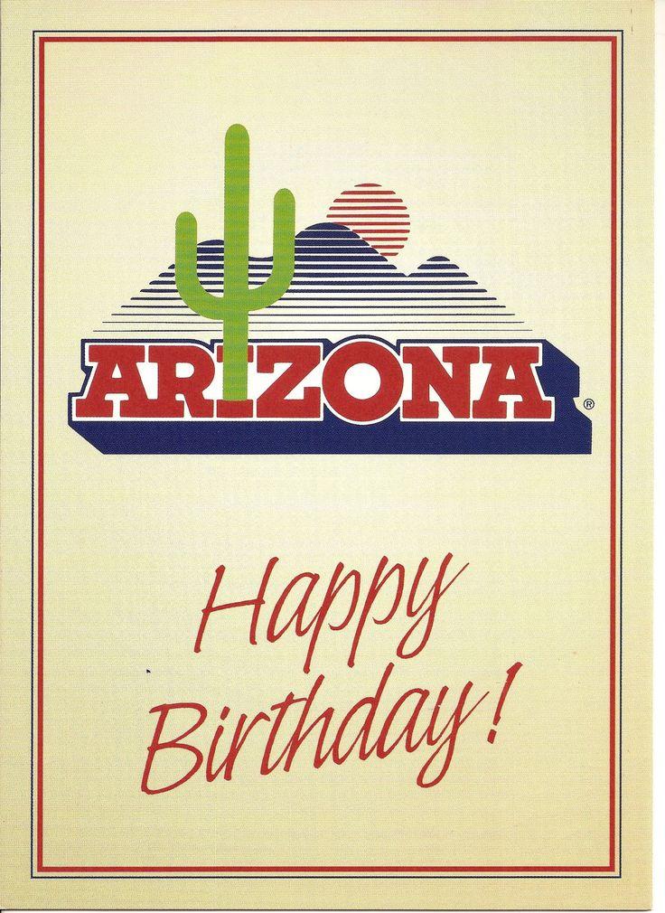 Arizona Wildcats Happy Birthday Greeting Card Stuff I Like Happy Birthday Greeting Card