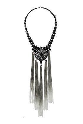 Stone Tassel Necklace - Jewellery  - Bags  Accessories