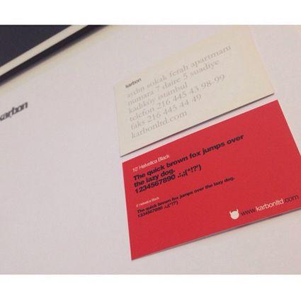 Karbon Kartvizit  #oldies #graphicdesign #design #businesscard #karbonltd