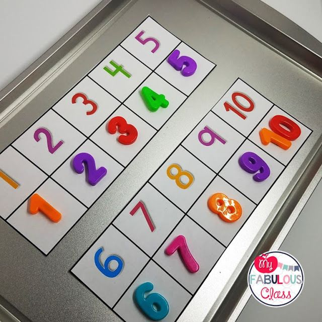 My Fabulous Class: Back to School Activities with Magnets