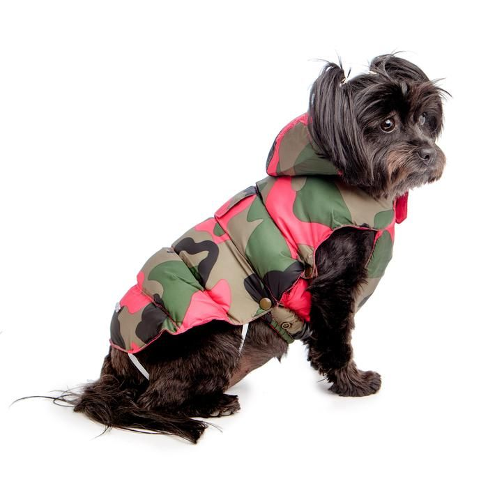Croci Street Camo Padded Jacket Dog Clothes
