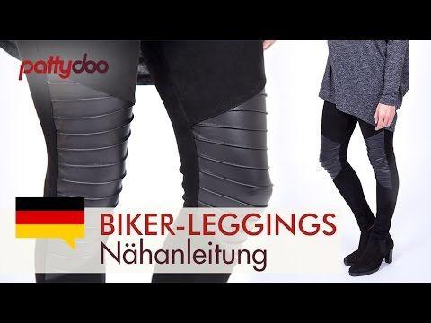 Biker Leggings nähen   pattydoo Blog