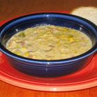 Slow Cooker Corn Chowder Recipe reviews say to maybe add a can of cream corn for more corn flavor and thicken it with cornstarch at the end if need be...helpfull suggestions