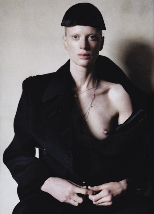 Kristen McMenamy photographed by Tim Walker for Love Spring/Summer '12