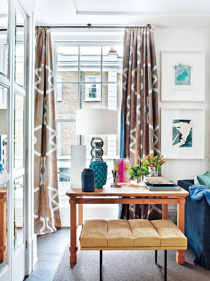 Красивый дизайн интерьера квартиры в Лондоне