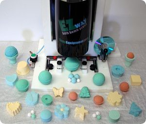 EZ Way Bath Bomb Press™ - Pneumatic (Air Powered) Bath Bomb Press