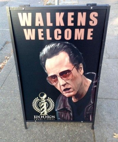 Does your business' sidewalk sign attract walk-ins? :)
