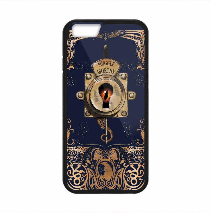 Fantastic Beast Muggle Worthy Lock Print On Hard Plastic Case Cover For iPhone 7 #UnbrandedGeneric