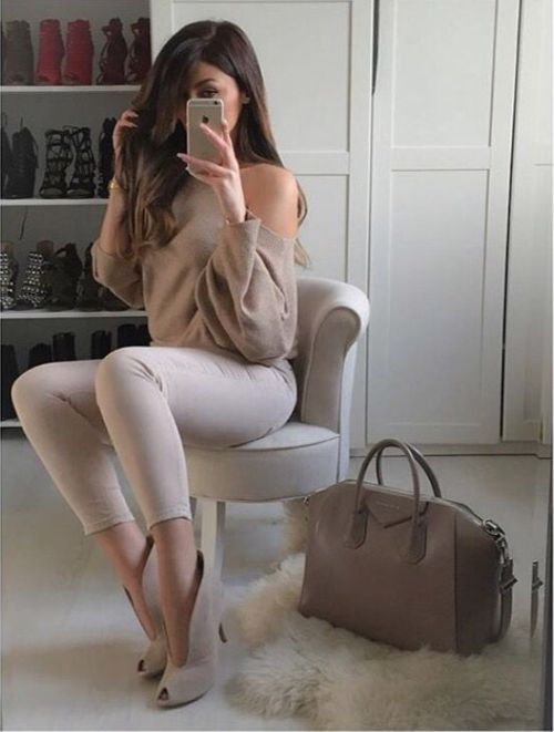 classy-neutral-outfit                                                                                                                                                                                 More